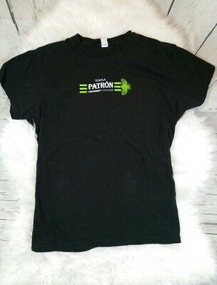 Tequila Patron Womens Tacing Black Shirt Fitted XL