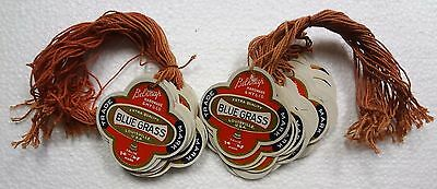 50 UNUSED Vintage Belknap Hardware BLUE GRASS New Old Stock Price Hang Tags