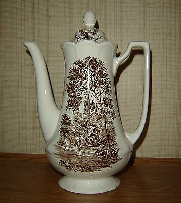 Royal Staffordshire AMERICAN LEGEND Coffee Pot J & G Meakin Ironstone England