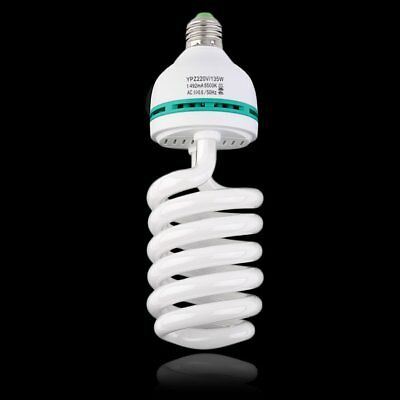 135w E27 5500k Photography Daylight Bulb Continuous Light Lighting Lamp OW