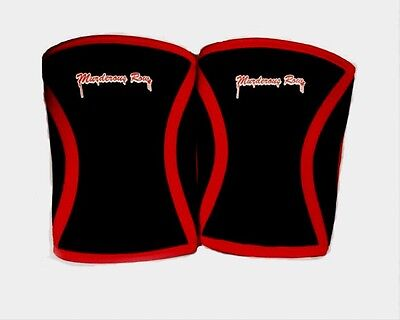 7mm Knee Sleeves 1 Pair Neoprene (M) Compression Warmth Support Fitness Crossfit