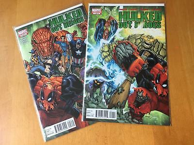 HULKED OUT HEROES No. 1 & 2 Near Mint- 9.2