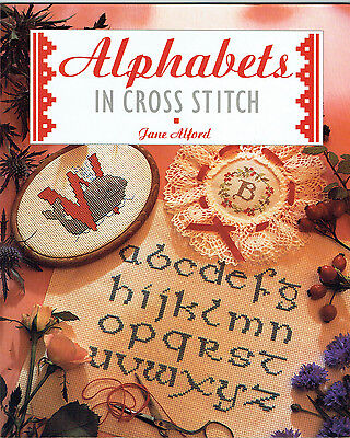 ALPHABETS IN CROSS STITCH ~ 48 Page Soft Cover Book ~ ALL YOU WILL EVER NEED