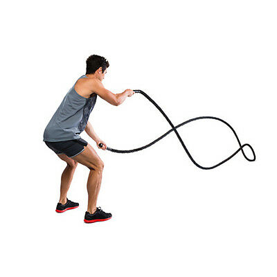 Heavy Battle Rope 9m for Power Strength Exercise Workout Training at Home