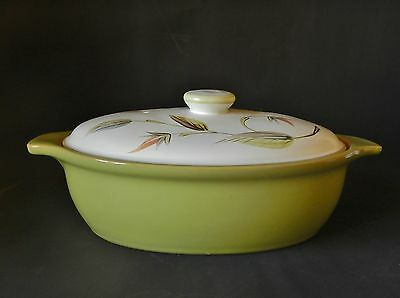 DENBY GLYN COLLEDGE OVAL TUREEN 290mm ACROSS - HAND PAINTED