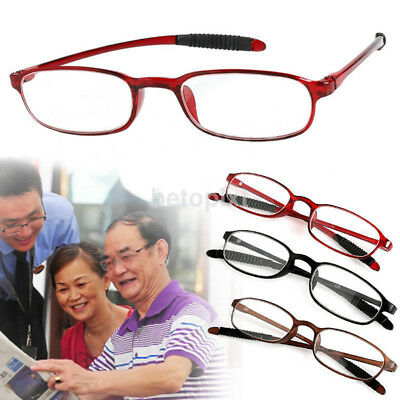 1Pc Square Flexible Super Light Women Men Reading Glasses Presbyopic Glasses FR