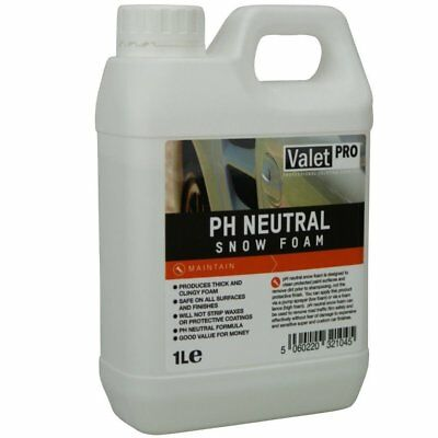 Valet PRO pH neutral Snow Foam 1 Liter