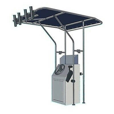 Adjustable Center Console Standard Size T Top For Boat with Aluminium Tube BLUE