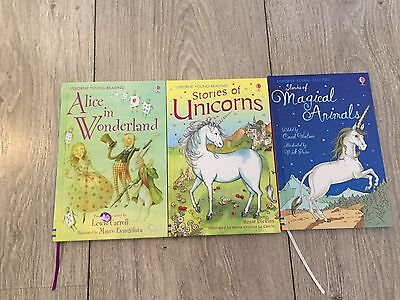 3 x Usborne Young Reader Hardcover Books