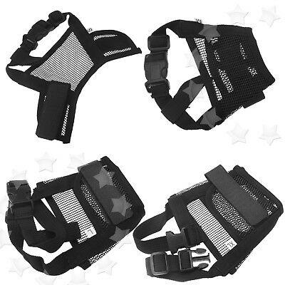 Pet Dog Nylon Mask Safety Soft Mouth Cover Muzzle Breathable S/M/L/XL