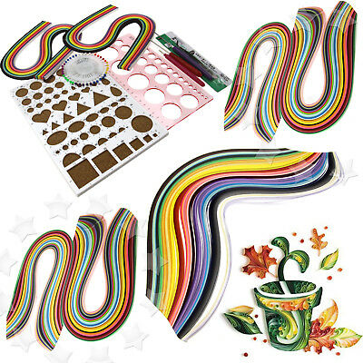 Starter Quilling Paper Kits Cork DIY Tool Workboard Slotted Tool Decoration