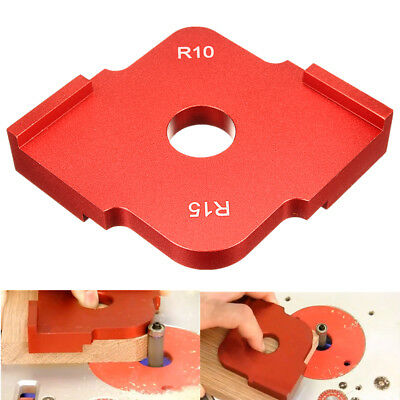 Radius Wood Quick Jig Corner Template Router Panel Table Bit For Woodworking R10