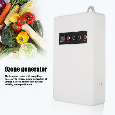 Ozone Generator Ozonator 600mg/h Air Purifier Water Food Fruits Sterilizer HL