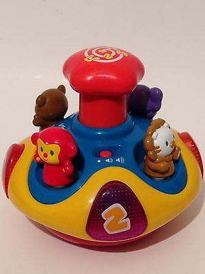 VTech Spin 'n Learn Top Musical Counting Animal Sounds Educational Toy 6084