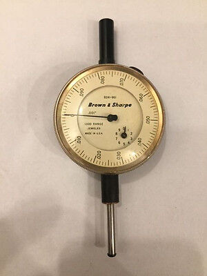 Brown and Sharpe Dial Indicator 8241-961