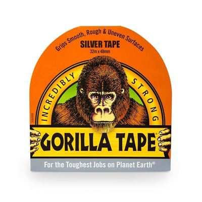 Gorilla 32m Ultra-Strong Silver Adhesive Tape 48mm x 32m