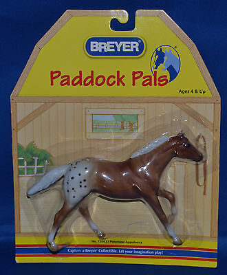 Breyer~2006~Paddock Pals~Palomino Blanket Appaloosa Thoroughbred Stallion!~NEW