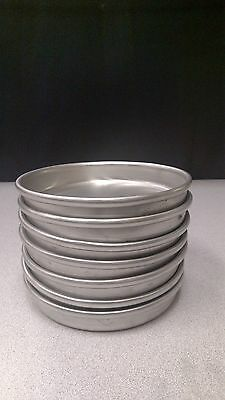 "*NEW* American Metalcraft 6"" x 1"" Pizza Pans Set of 7 Pans"