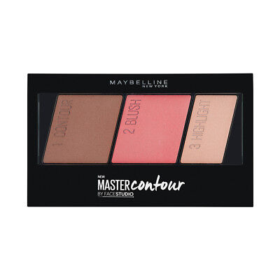 (6 Pack) MAYBELLINE Facestudio Master Contour Face Contouring Kit - Medium to