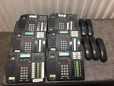 Lot Of 6 Nortel Phones T7316