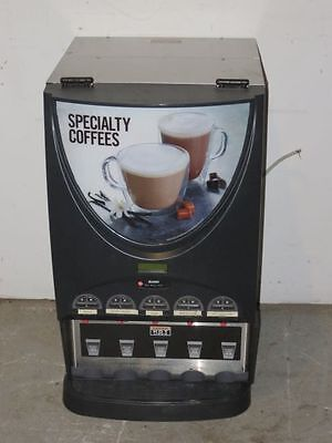 Bunn Imix-5 Commercial 5 Flavor Cappuccino Hot Chocolate Machine Hot Beverage