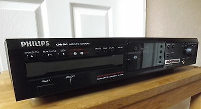 Philips Cdr600 Cd Player & Recorder......... Manual & Remote