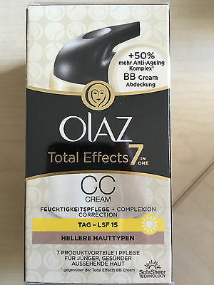 OLAZ CC Cream Total Effects 7 in One Neu & OVP BB Cream