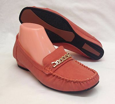 """12 Pairs Ladies Womens Red 1.1"""" Mid Wedge Casual Formal Work Court Shoes Job Lot"""