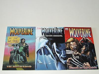 Wolverine TPB (2003-2004 Marvel) By Greg Rucka - Volumes 1, 2 & 3 (complete set)