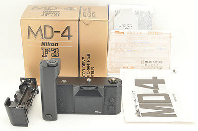 *UNUSED(NEW)* Nikon MD-4 Motor Drive for Nikon F3 from Japan #0915