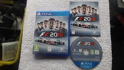 ps4 games f1 2016 picclick uk. Black Bedroom Furniture Sets. Home Design Ideas