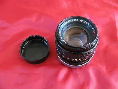 Canon FD 50mm 1:1.4 SSC  Lens Untested