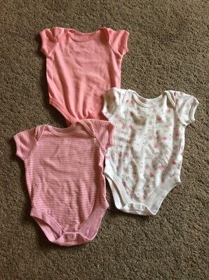 Baby Girls Vests From BHS 3-6 Months