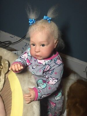 Reborn Princess Charlotte Baby Girl Doll, 1 Year Old Size Straight Legs
