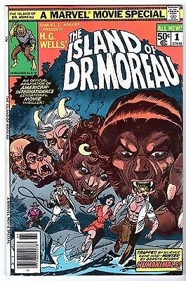 Island of Dr. Moreau #1, Very Fine - Near Mint Condition.