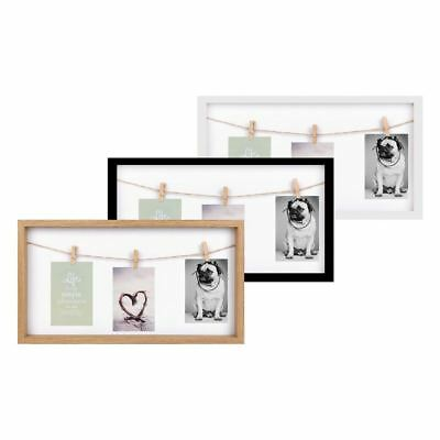 3 Picture Peg Photo Frame