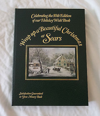 SEARS Catalog Special 50th EDITION 1982 Christmas Holiday Wish Book Vintage A+