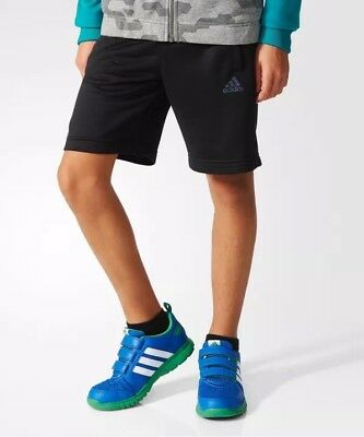 adidas Boys Shorts Kids Junior Shorts Training Gym Climalite Sports Football