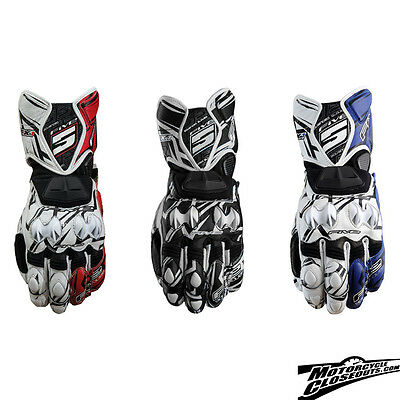 FIVE RFX1 Replica Attack Racing Sport Riding Armored Gloves with Kevlar