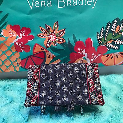Vera Bradley Retired  Checkbook Cover With Place For Pen Euc