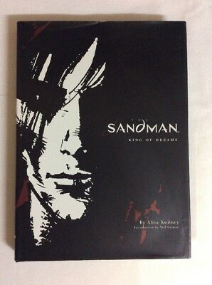 The Sandman King Of Dreams By Alisa Kwitney 2003 (Graphic Novel HC)- VG