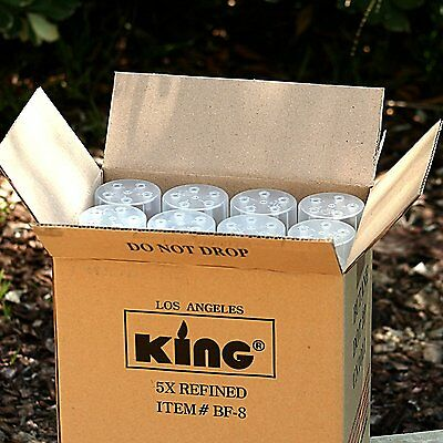 12 Pack KING 5x Butane Gas for Torch Lighter 300ML Cigar Refill Fluid Tank Liter