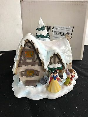 Disney Disneyland village Snow White Cottage House Dwarves MIB