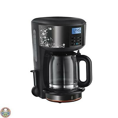Russell Hobbs Nero 21991-56 Legacy Floral Macchina Caff Floral Nuovo
