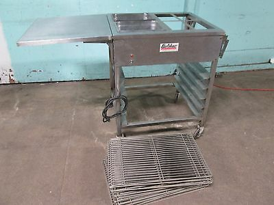 """""""belshaw - It"""" Hd Commercial Ss (Nsf) Donuts Heated Glazing Table + 20 Screens"""