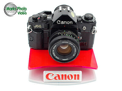 Canon A-1 35mm SLR Film Camera with FD 50mm f/1.8 Lens Kit