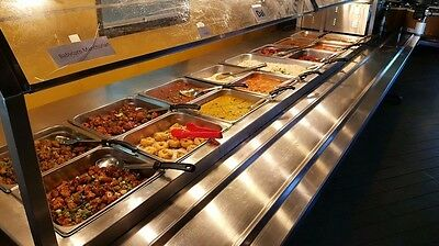 8 Well hot buffet table