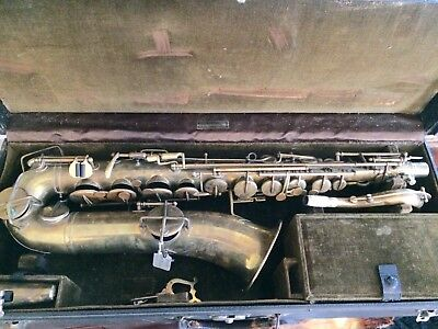 Carl Fischer C Melody Saxophone Repair Project