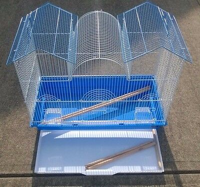 Prevue Pet Products Triple Roof Bird Cage - for small birds - LOCAL PICKUP ONLY