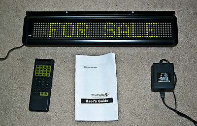 NEW! Pro-Lite GREEN LED Programmable Scrolling Message Board Sign Bar Remote